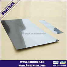 china supplier titanium foil cost per kg