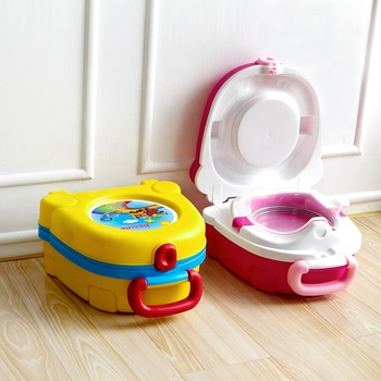 Portable baby potty
