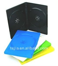 PP 14mm double black standard DVD case with eco-friendly