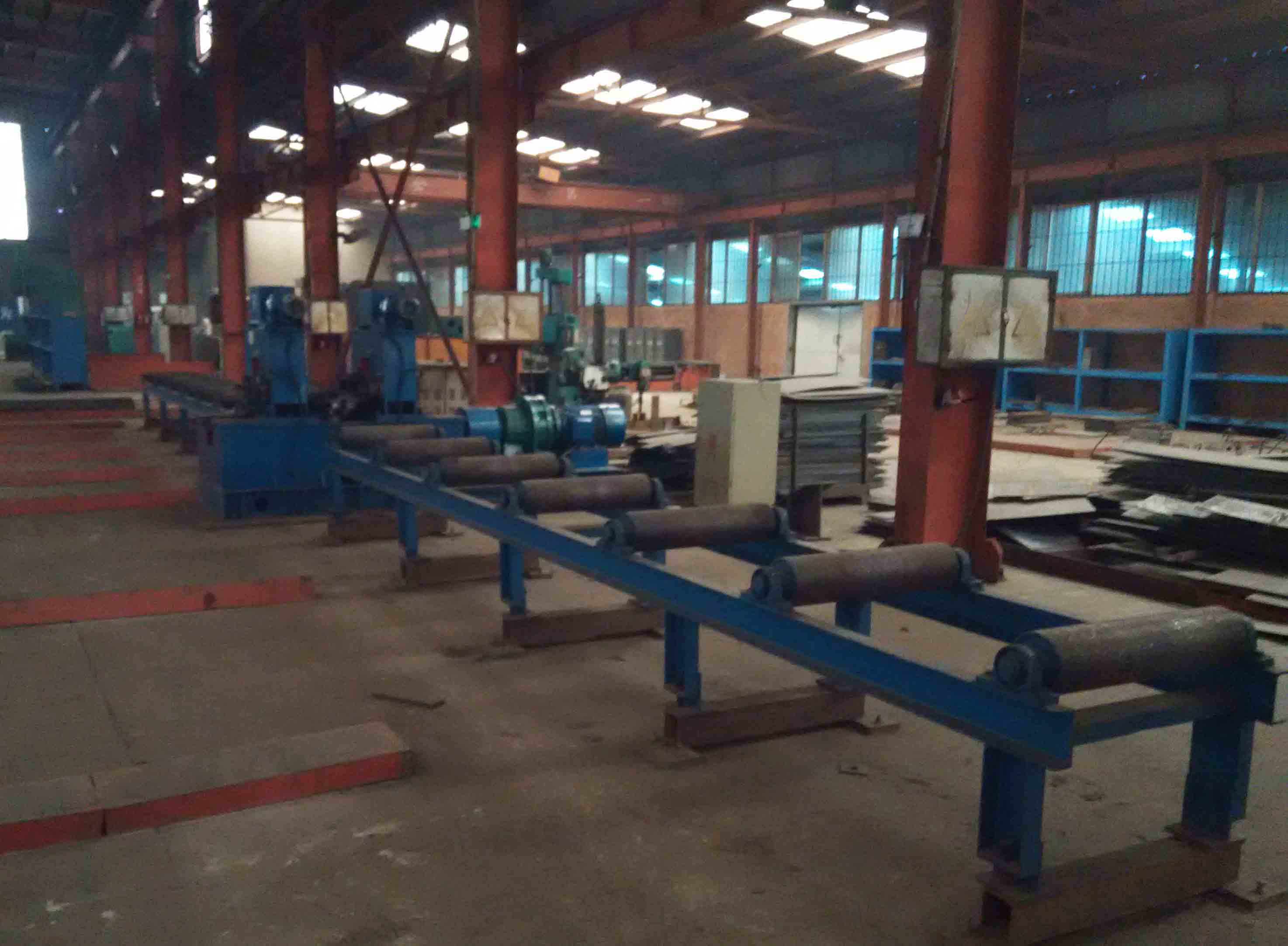Straightening-H Section Steel