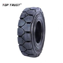 good quality high performance forklift skid steer solid tyres