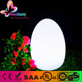 Egg shape glowing led illuminated table lamp for party decorations