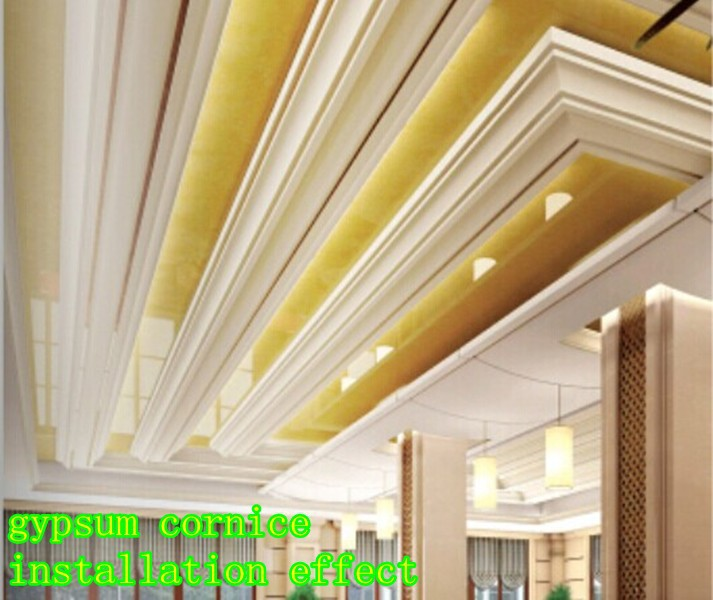 Cornice /crown Molding - Buy Gypsum/plaster Cornice Designs,Ceiling ...