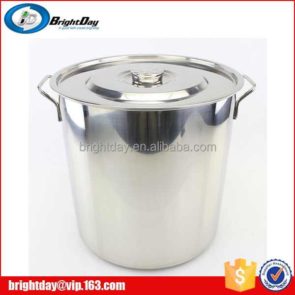commercial induction pot/large stainless steel stock pot/soup pot