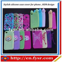 Silicon soft case cover for cell phone