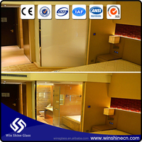 Clear Electric Opaque Smart Film Privacy Glass