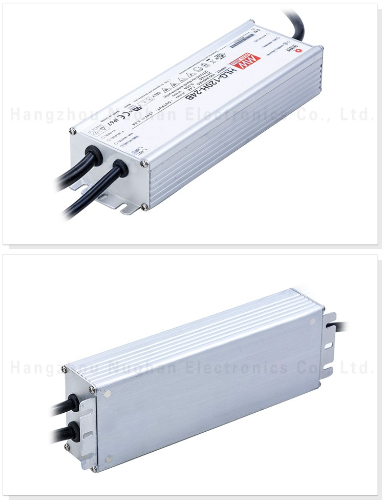 Original Meanwell HLG-120H-24B 120w 24v 5a pwm dimmable led driver