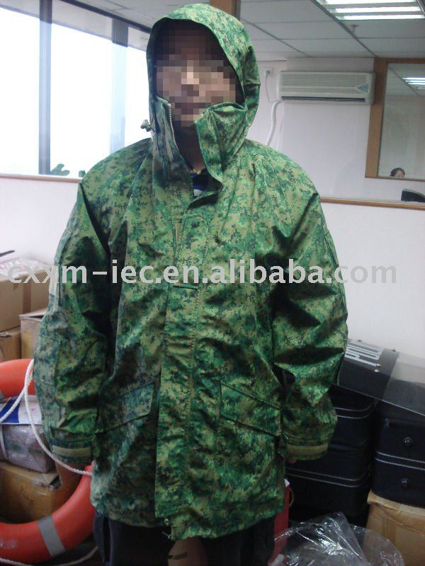 Wind and rain proof camouflage jacket