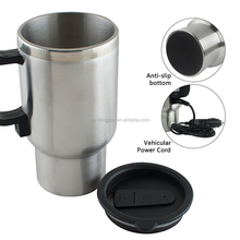 High Quality 450ml Stainless Steel coffee mug thermal cup Heated Car travel Cup