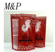 plastic stand up chicken bags with zipblock