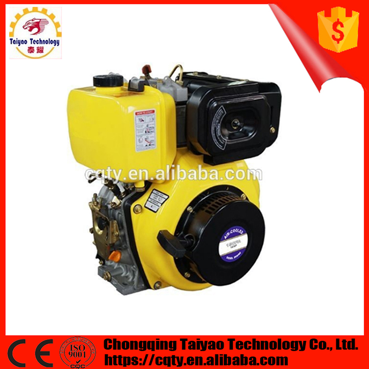 TAIYAO 188F Air Cooled Single Cylinder 12HP Diesel Engine for Sale