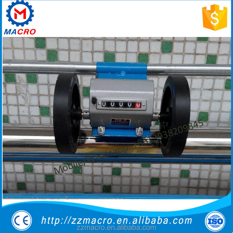 horizontal level cloth rolling machine