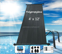 Plastic solar pool heater collectors big manufacture in SHENZHEN
