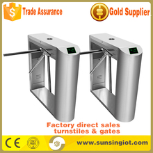 Hot Sell automatic three arm rotating turnstile gate In Stock
