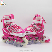 inline skate patines en linea cougar inline skate high quality Aluminium alloy chassis
