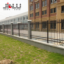 High security gates and steel fence design wall fence for factory apartment etc