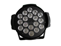 LED PAR64 Light with 18pcs x 10W RGBW 4in1 LED