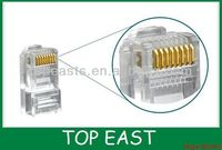 STP UTP 8P8C RJ45 cat6 network modular plug