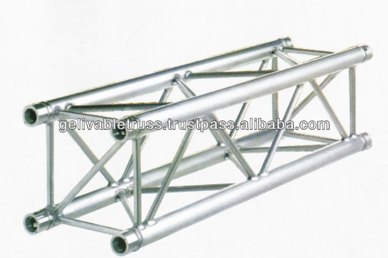 4 towers Indoor expo 6.5X6.5X5M Aluminum Alloy Truss mini truss