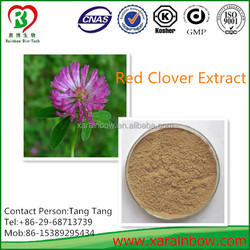 Organic and Top Nature Red Clover Extract Isoflavone 2.5-40%