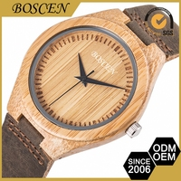 Universal Customized 3 Atm Water Resistant Wooden Wrist Watches 2015