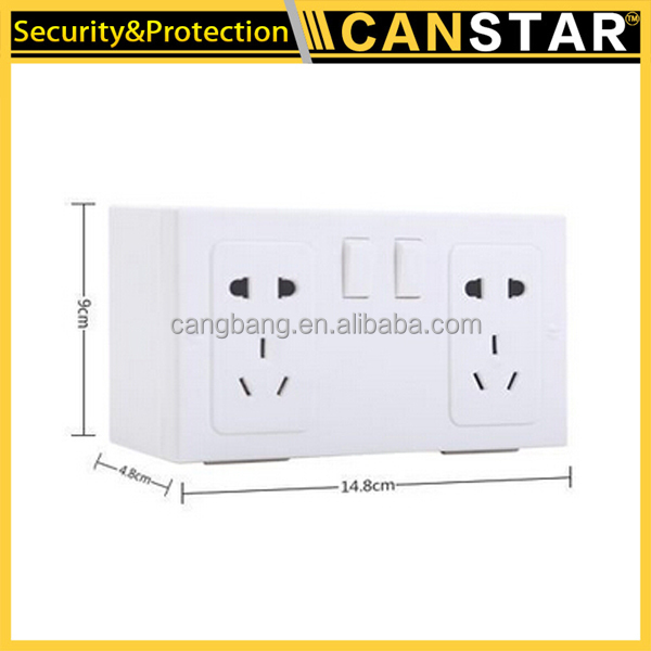 High quality wall socket safe box