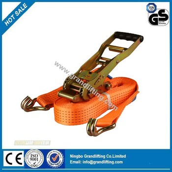 5T cargo lashing strap,Ratchet strap,Ratchet tie down,polyester webbing