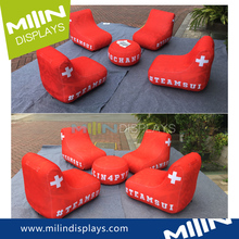 Custom inflatable air chair sofa for camping