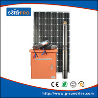 great varieties 2.2kw dc/ac solar pumping system