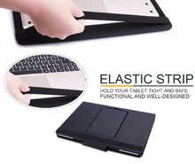 For Folding PU Leather Folio Case Cover & Detachable Wireless Bluetooth Keyboard Cover Case for Apple iPad Pro 12.9