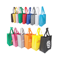High Qualtiy black non woven bag with customized logo printing promotional tote bag