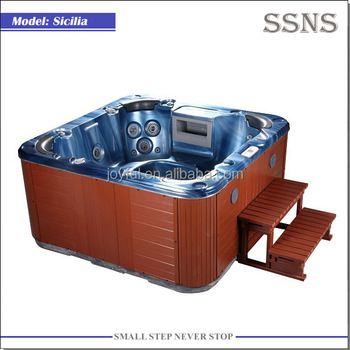Europe 4-6 persons outdoor spa tub Sicilia