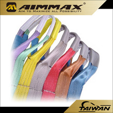 4 Inch 100MM Polyester Lifting Webbing Sling, Sling Strap