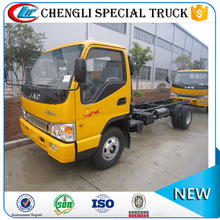 JAC 4*2 100hp flatbed type wheel lift tow truck bed wrecker for sale