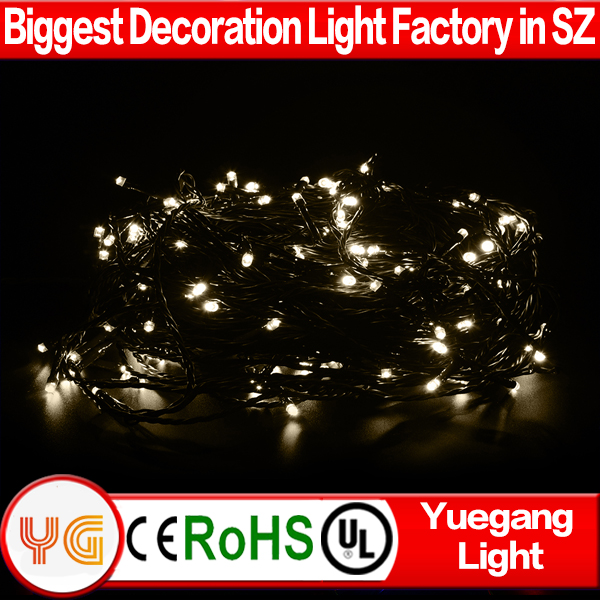 HOT Christmas decoration 24V 30m 200leds cluster village led lights