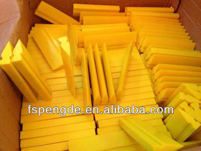 Urethane Squeegee Blades with sharp edge