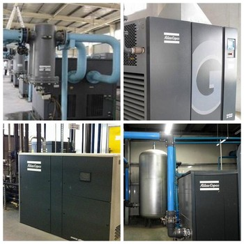 chinese supplier Atlas Copco GA VSD series air compressor machinery for sale