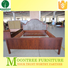Moontree MBD-1127 rosewood veneer bedroom furniture design