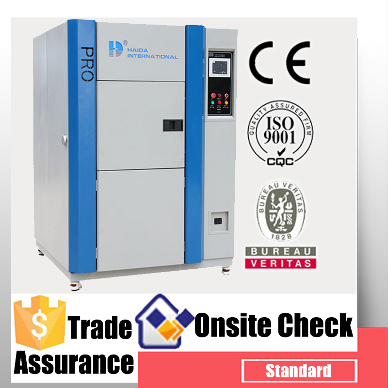 Programmable forced air drive damper thermal conductivity testing equipment