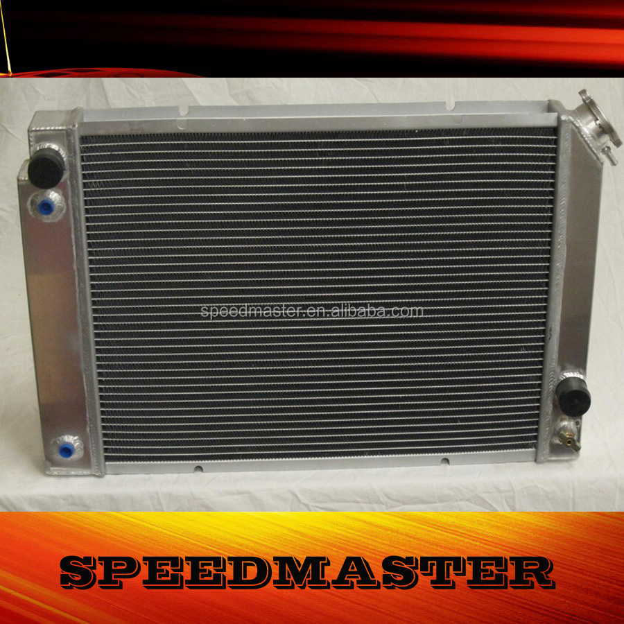 auto car radiator pa66 gf30 fit universal fan for PONTIAC FIERO 84-88
