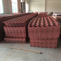 spanish style plastic pvc roof tiles/top quality royal roofing tile/easy Installation pvc roofing tile