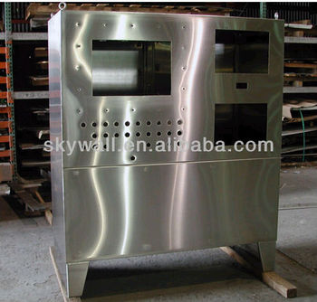 High Quality custom stainless sheet metal frame for cabniet