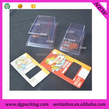 Clear Plastic Clamshell, Blister Clamshell Packaging with carboard printing
