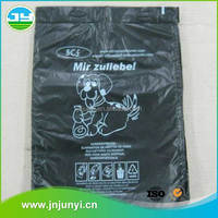 Smell Proof Large Capacity Cheap Dog Waste Plastic Bag With Transparent Bone Box