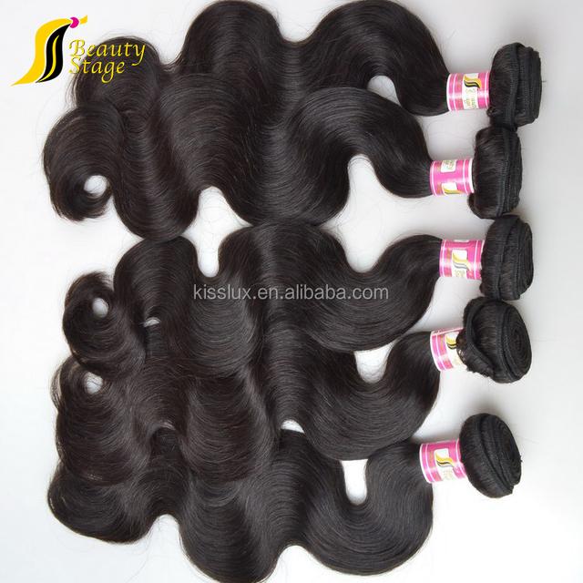 Unprocessed body wave texture 5a grade quality virgin malaysian human hair