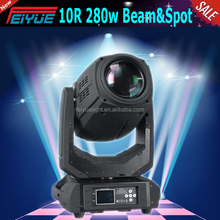 2015 New Arrival Sharp 280w Spot Wash Beam 3in1 10r Beam Moving Head