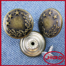 metal upholstery buttons