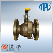 High Pressure brass ball valve price pn40 for oil and gas