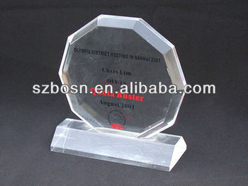 Acrylic gift;Plexiglass business crafts;Perpex trophy;Acrylic medal;