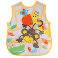 Customized cheap children apron waterproof kids apron with painting
